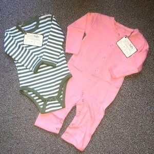 L'oved Baby Organic Cotton Clothing Lot